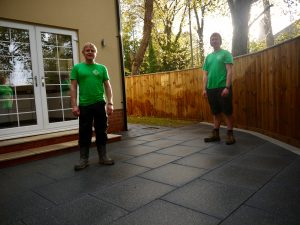 Contemporary garden design, patio, patios, garden design, fencing, Tobermore paving, Middlesbrough, Marton, Teesside, Fences, Green Onion Landscaping, About us,