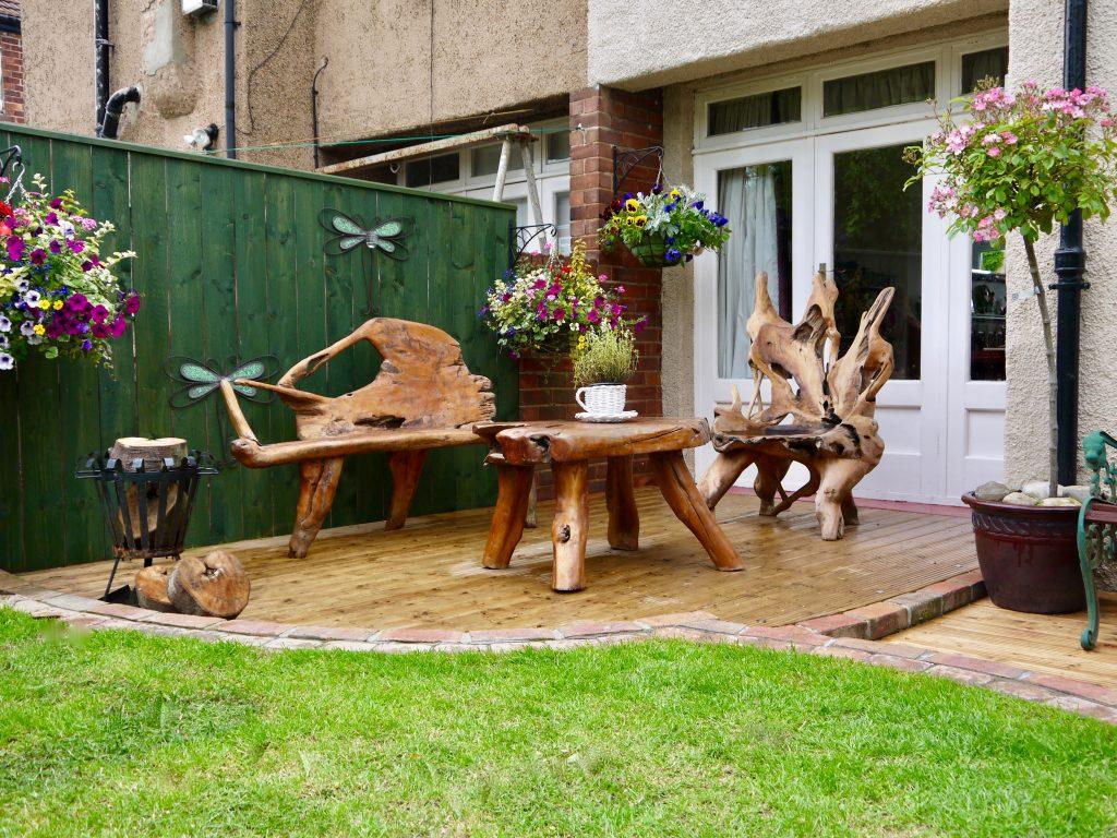 Landscape design stockton for Garden decking middlesbrough