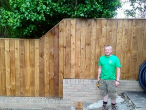 timber fence, wooden fences, garden fencing, garden fence, fences, Stockton, Wynyard, Fairfield, Stockton, Green Onion Landscaping,closeboard fencing
