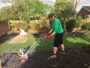 Niall Bean, Garden maintenance, garden tidy, garden weeding, borders, rotorvating,hedge trimming, lawn mowing, tidying borders, pruning, weeding, planting, removing shrubs, Green Onion Landscaping, Teesside, Stockton, Darlington, Middlesbrough, Landscapers, landscape design