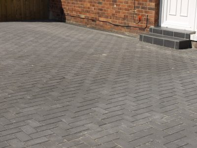 Block paving, Herringbone, Driveway, block paved drive, Stockton, landscapers Darlington, Green Onion Landscaping