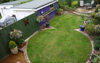 Landscape, design, turfing, brick walls, patio, sandstone,Green Onion Landscaping, Stockton, Fairfield