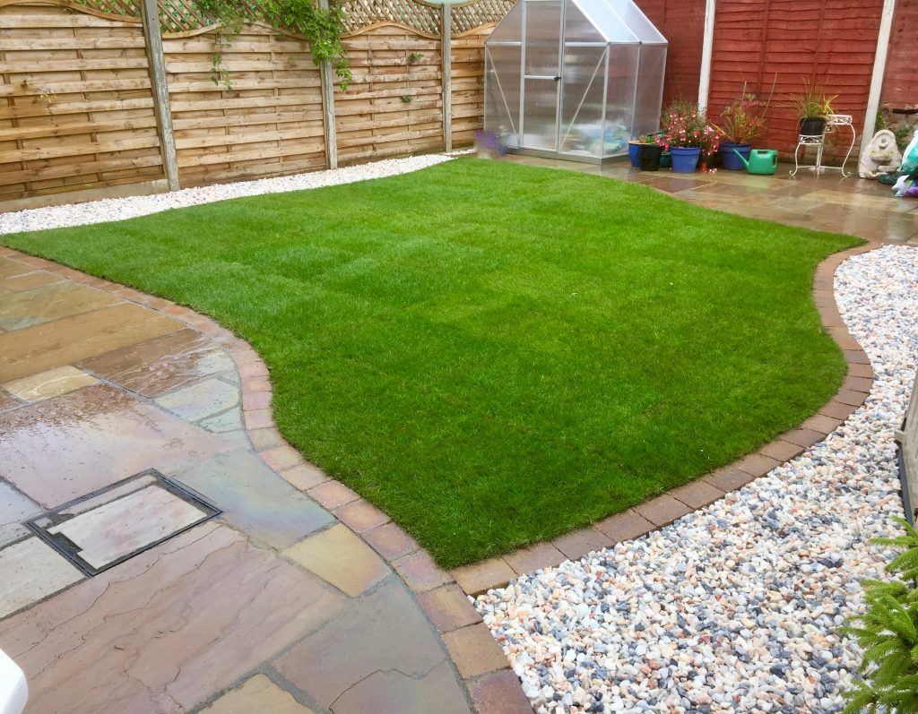 Turfing Turf Rowlawn Landscapers Green Onion Landscaping