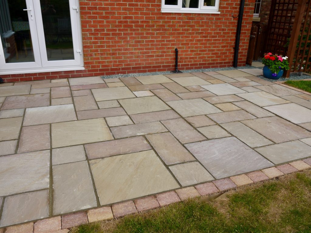 Sandstone Patio Stockton On Tees Wynyard, Sandstone, Patio, Patios,  Landscapers, Landscaping
