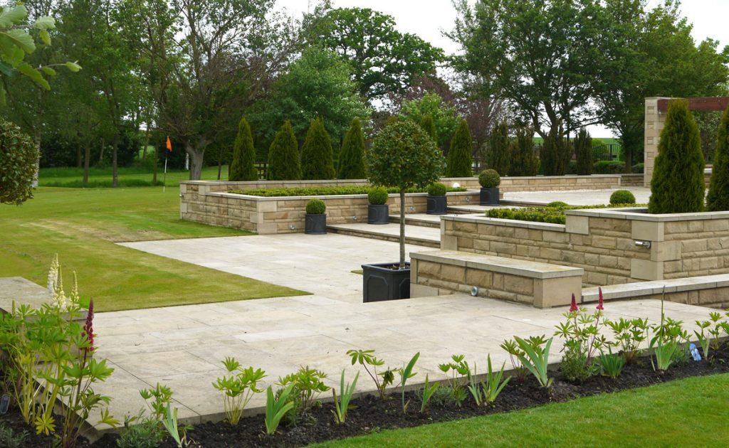 Green onion landscaping landscape designers landscapers for Hard landscaping