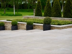 Contemporary garden design, sleek, modern, gardens, Green Onion landscaping, Buxus, straight lines, clean cut,Stockton