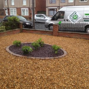 gravel driveway, gravel drive, driveways, drive, cheap, cost effective, landscaping, Stockton, Hartburn, Darlington, Tees Valley, Green Onion Landscaping, driveway installers,