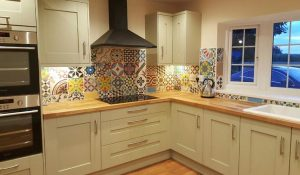 Moroccan tiles, encaustic tiles, patchwork tiles, kitcehntiles, bathroom tiles, garden tiles, indoor, outdoor, Teesside, Stockton, Middlesbrough, darlington, Northallerton,