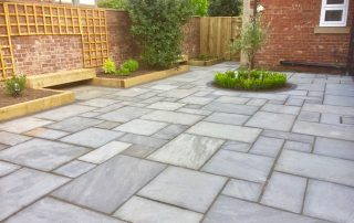Landscaping, landscapers, about us, paving, sandstone, sleeper beds, sleepers, trellis, design, garden, Norton, Stockton, Teesside, Cleveland, Green Onion Landscaping, soil, plants, soft landscaping, professionals,