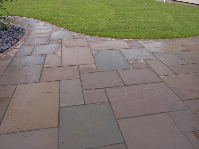 hard and soft landscaping, patio, sandstone, cobbled, edge, turfing, slate, Green,Onion,Landscaping, landscapers in Stockton