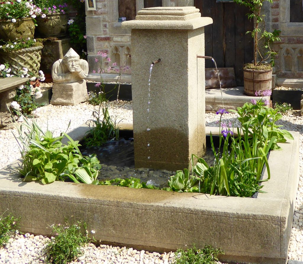 Stunning Water Features, Garden Design, Landscapers, Stockton, Teesside, Darlington, Green Onion Landscaping, fountain, cascade, pond, pool, stand alone water feature,