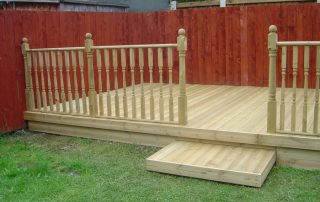 Raised,decking,Middlesbrough,Green,Onion,Landscaping, Landscapers Teesside