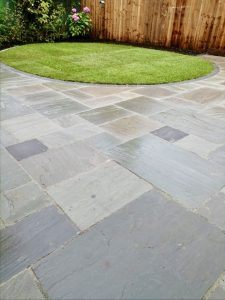 Patio, turfing, garden design, close board fencing, landscapers, Teesside, fences, timber, Stockton, Teesside, Norton, fairfield, Darlington, Green Onion landscaping,