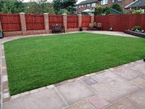 Turfing,turfed,lawn,grass, new lawn, garden design, landscapers, landscaping, patios, paving, fencing, garden design, Green Onion Landscaping,
