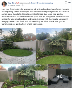 turfing-review-fencing-sandstone-patio-paving-fencing-landscape-design- Ingleby-Barwick-Stockton-Green -Onion-Landscaping-Landscapers